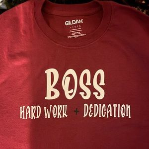 Custom Boss T-shirt